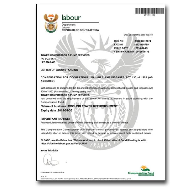 Coida Certificate Verification Re Print Startuphero Business